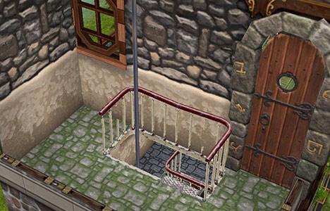 塔最上階・室内(The Sims フリープレイ)