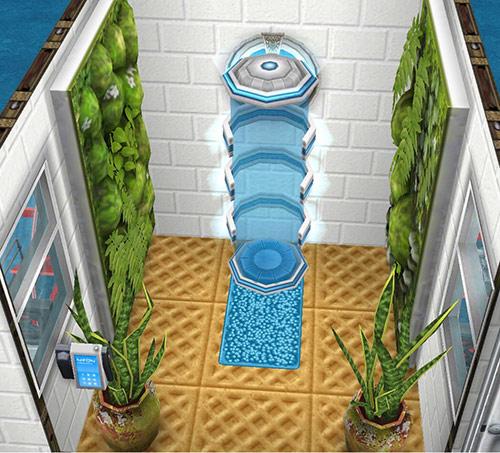 ボタニカルなテレポータールーム(The Sims フリープレイ)