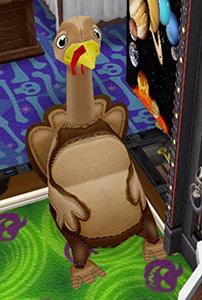 七面鳥ビーンバッグ(The Sims フリープレイ)