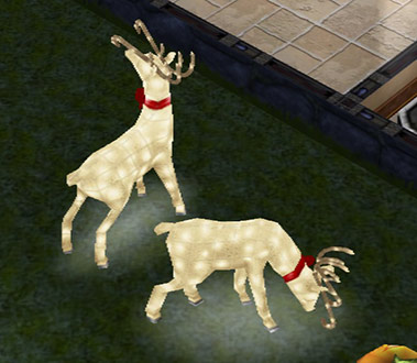 ピカピカのトナカイ(The Sims フリープレイ)