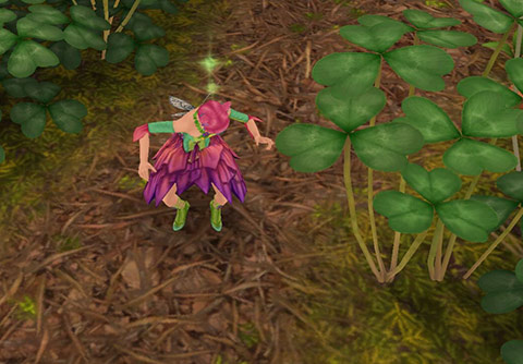 かくれんぼで幼児シムを探すティーンシム(The Sims フリープレイ)