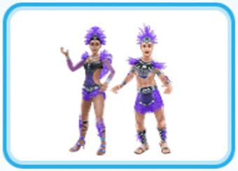 トキのカーニバルの服装(The Sims フリープレイ)