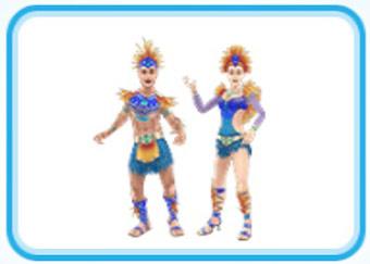 オオハシのカーニバルの服装(The Sims フリープレイ)