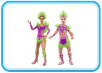 ホエザルのカーニバルの服装(The Sims フリープレイ)