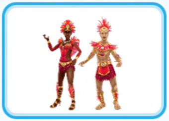 フラミンゴのカーニバルの服装(The Sims フリープレイ)