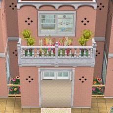 オリジナル夢の保育所玄関(The Sims フリープレイ)