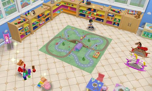 夢の保育所プレイルーム(The Sims フリープレイ)