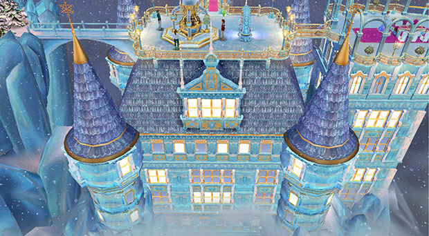 氷の宮殿(The Sims フリープレイ)