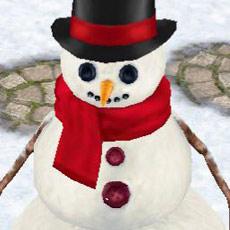 雪だるま Mr. フラーリー(The Sims フリープレイ)