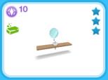 シャレー シングル ブロンド、10SP(The Sims フリープレイ)