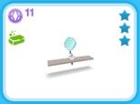 シャレー シングル 白、11SP(The Sims フリープレイ)