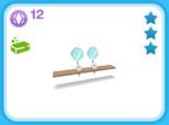 シャレー ダブル ブロンド、12SP(The Sims フリープレイ)