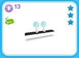 シャレー ダブル 黒、13SP(The Sims フリープレイ)