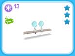 シャレー ダブル 白、13SP(The Sims フリープレイ)