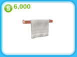 ローズゴールドのタオルラック、6,000シムオリオン(The Sims フリープレイ)