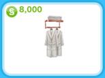 ローズゴールドのローブラック、8,000シムオリオン(The Sims フリープレイ)