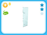 シャレーのシャワーヘッド シルバー、8LP(The Sims フリープレイ)