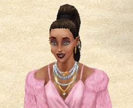 ラブ&トレジャーイベント、ゴージャス美女プリム(The Sims フリープレイ)