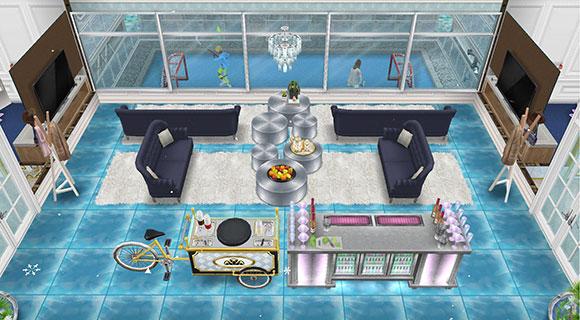 アイスホッケースタジアム、VIPルーム(The Sims フリープレイ)