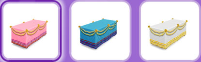 パーティーパック「ダイニングルーム」アイテム(The Sims フリープレイ)
