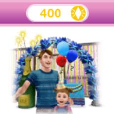オンラインストア商品「パーティーパック 400LP」(The Sims フリープレイ)