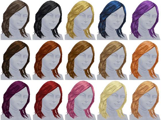 小学生用スペシャルボックス賞品 女の子用「髪型」アイテム一覧(The Sims フリープレイ)