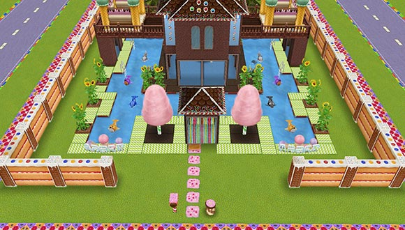 キッズのお泊まり会ハウス 正面外観(The Sims フリープレイ)