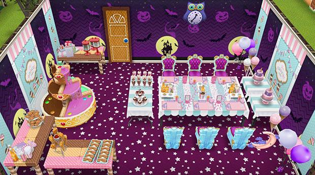 真夜中のおやつパーティーハウス(The Sims フリープレイ)