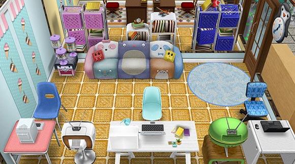 キッズのお泊まり会ハウス コンピュータールーム(The Sims フリープレイ)