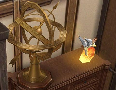 キッズのお泊まり会ハウス 和室の飾り(The Sims フリープレイ)