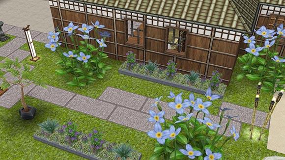 あじさい散歩道(The Sims フリープレイ)