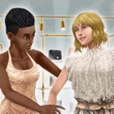 「シックなブティック」ライブイベント、お知らせアート(The Sims フリープレイ)