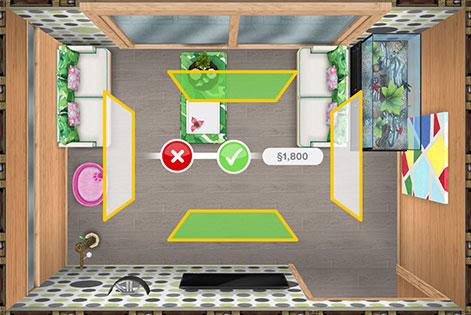 壁紙の設定(The Sims フリープレイ)