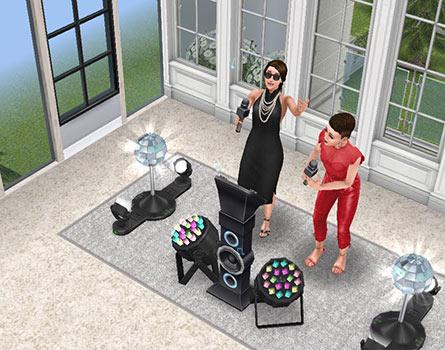 展望カラオケパーティールーム(The Sims フリープレイ)