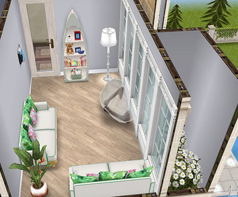 休憩室(The Sims フリープレイ)