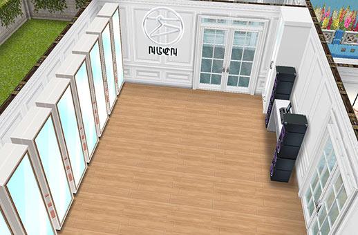 演技のレッスンスタジオ(The Sims フリープレイ)