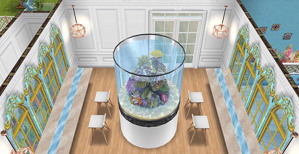 アクアリウムカフェ(The Sims フリープレイ)
