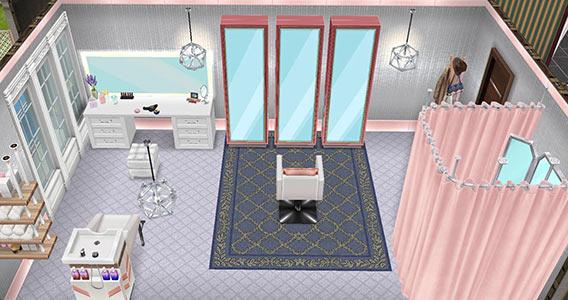 スタイリングルーム(The Sims フリープレイ)