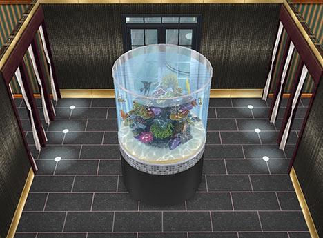 アクアリウムホール(The Sims フリープレイ)