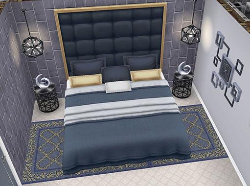 ゲスト用ベッドルーム(The Sims フリープレイ)