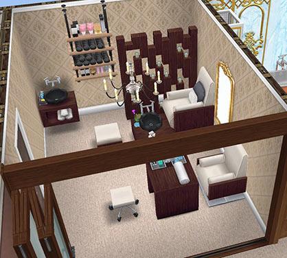 ネイルスパ(The Sims フリープレイ)