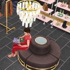 ゴージャスなウォークインクローゼット(The Sims フリープレイ)