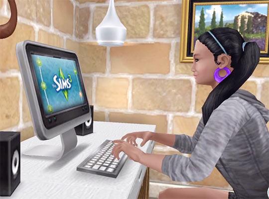 ARモード:シムズで遊ぶシム(The Sims フリープレイ)