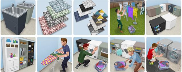 高級ランドリーイベント報酬(The Sims フリープレイ)