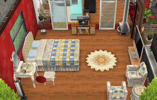 デザイナーズ住宅5寝室(The Sims フリープレイ)
