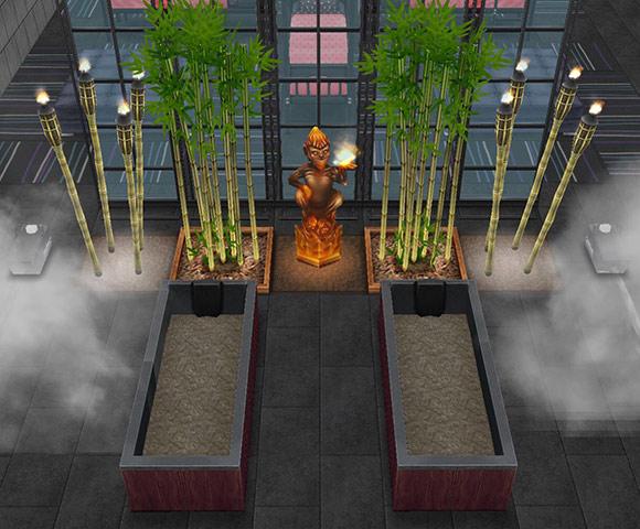 ゴーストハウス:地獄の泥風呂(The Sims フリープレイ)