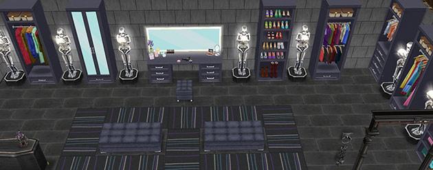 ゴーストハウス:ゾンビだらけのウォークインクローゼット(The Sims フリープレイ)