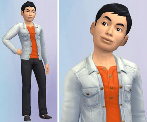 好青年ヨウスケ(The Sims シムズ ポケット)