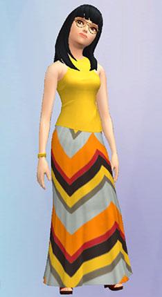 エスニックファッション(The Sims シムズ ポケット)