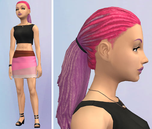 パワフル女子ファッション(The Sims シムズ ポケット)